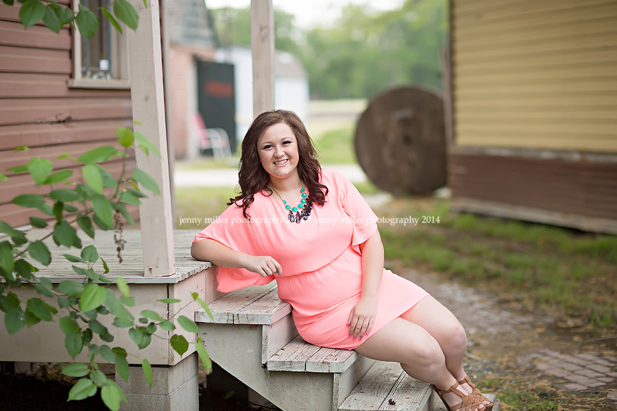 old town spring senior session