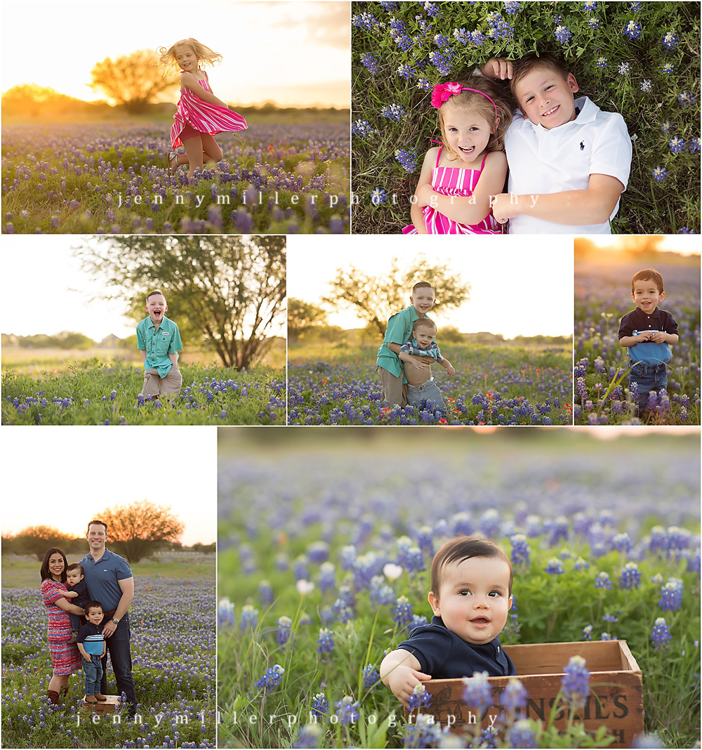 new braunfels bluebonnet mini sessions | Jenny Miller Photography | www.jennymillerphoto.com