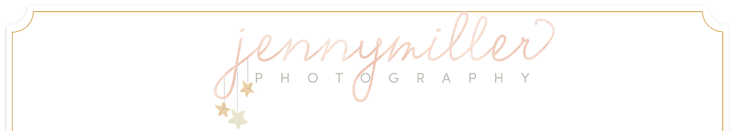 San Antonio Newborn Photographer and Houston Newborn Photographer. Jenny Miller Photography – newborn, child and family photography logo